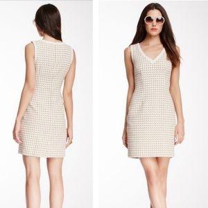 Trina Turk Houndstooth Sheath Dress